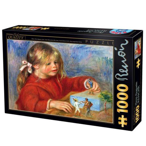 DToys puzzla Claude Renoir at play Sun 1000 pcs 07/66909-07 - ODDO igračke
