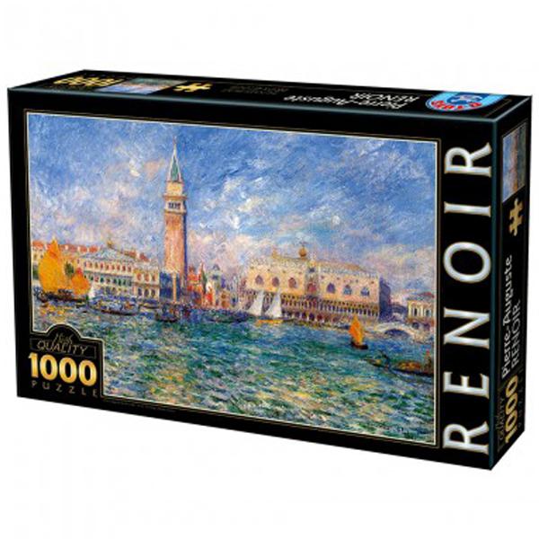 DToys puzzla, Renoir 1000 pcs 07/66909-08 - ODDO igračke