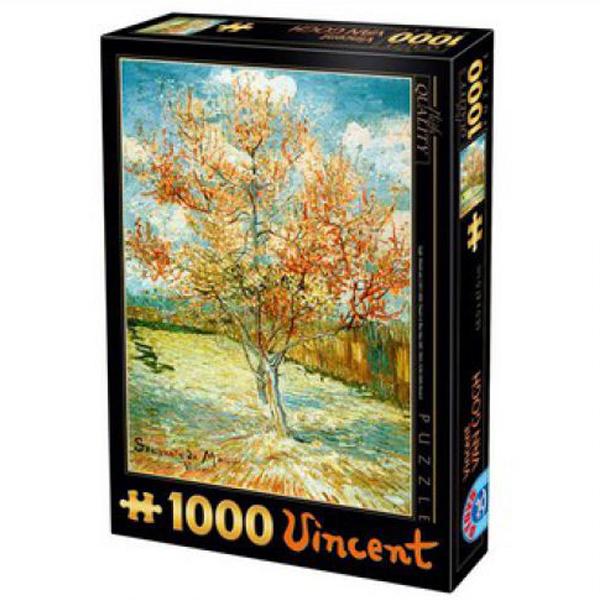 DToys puzzla  Pink Peach Tree in Blossom Van Gogh, 1000 pcs 07/66916-04 - ODDO igračke