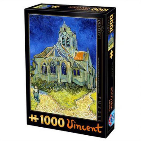 DToys The Church at Auvers Van Gogh, 1000 pcs 07/66916-10 - ODDO igračke