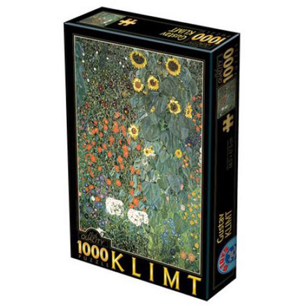 DToys puzzla Farm Garden, Gustav Klimt 1000 pcs 07/66923-08 - ODDO igračke