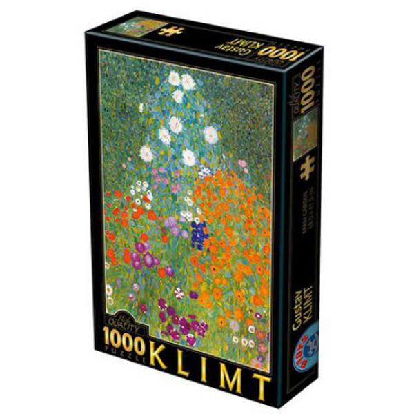 Dtoys puzzla Farm Garden 2, Gustav Klimt 1000 pcs 07/66923-09 - ODDO igračke