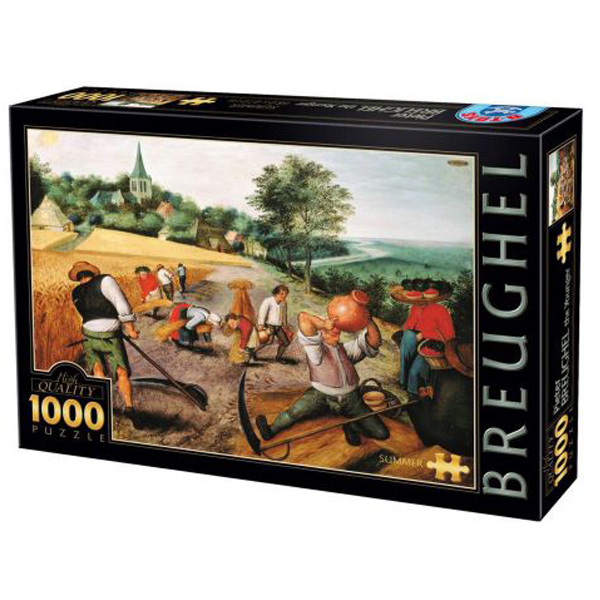 DToys puzzla Summer, Breughel the Younger 1000 pcs 07/66947-02 - ODDO igračke
