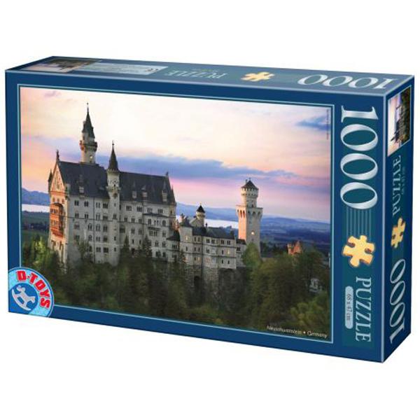 DToys puzzla Neuschwanstein Castle 1000pcs 07/64301-07 - ODDO igračke