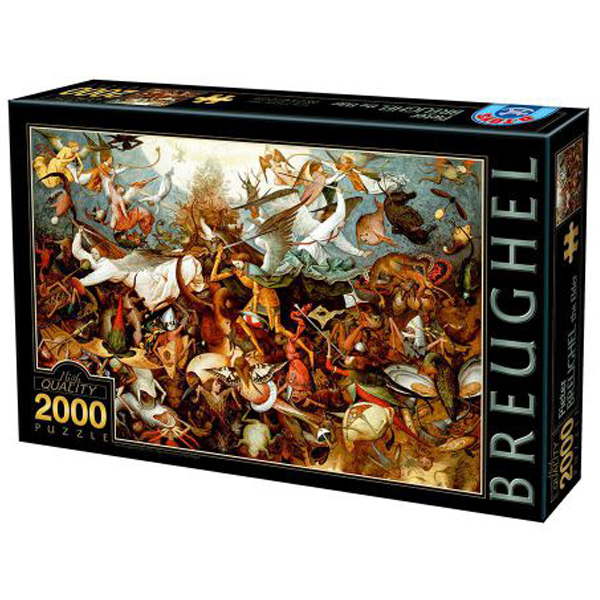 DToys puzzla Breughel The fall of Rebel Angels 2000pcs 07/72900-02 - ODDO igračke
