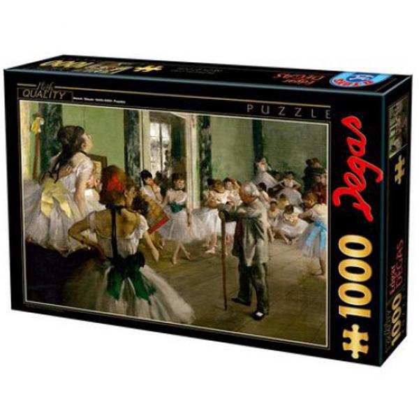 DToys puzzla Edgar Degas - The dancing class 1000pcs 07/72801-02 - ODDO igračke