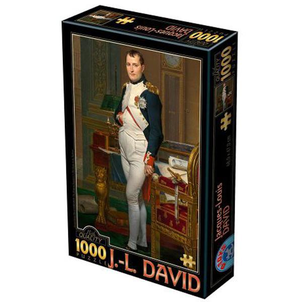 DToys puzzle David: The emperor Napoloen in his study 1000pcs 07/72719-02  - ODDO igračke