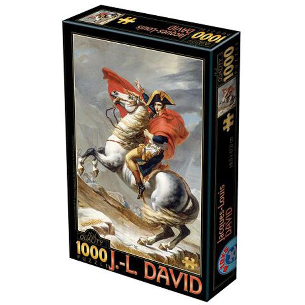 DToys puzzle David Napoleon Crossing the Alps 1000pcs 07/72719-01 - ODDO igračke