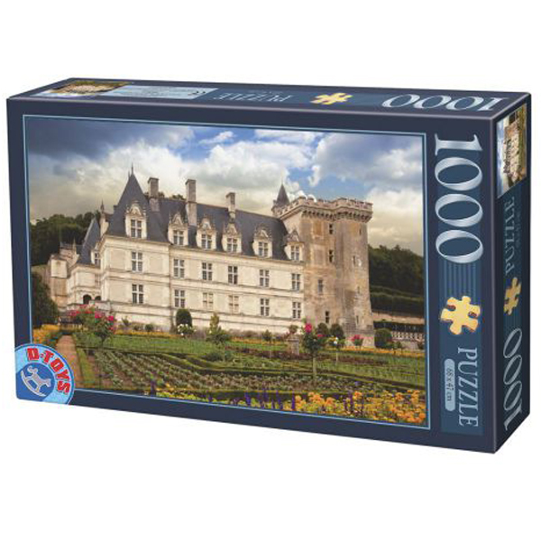 DToys puzzle Chateau de Villandry France 1000pcs 07/67562-04 - ODDO igračke