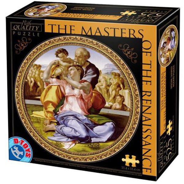 DToys puzzle Michelangelo The Holy Family 525pcs 07/66985-04 - ODDO igračke