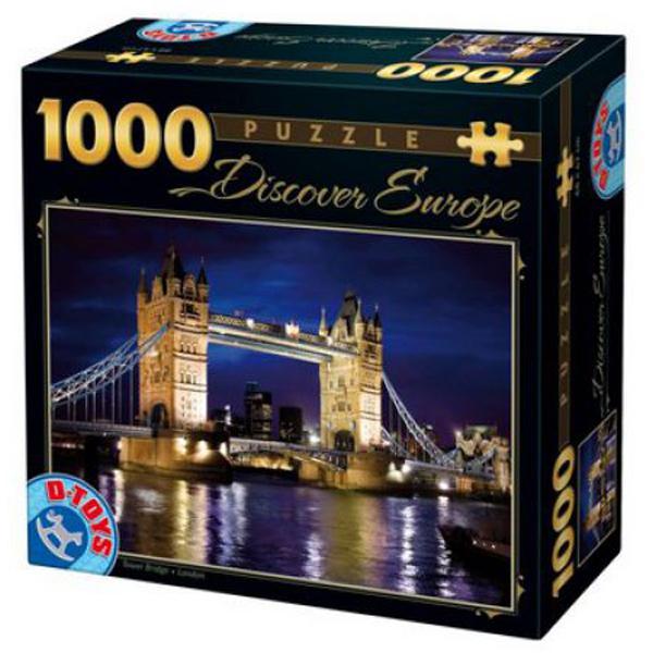DToys puzzle Tower Bridge 1000pcs 07/65995-01 - ODDO igračke