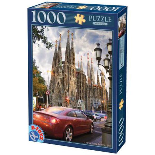 DToys puzzle Barcelona Sagrada Familia1000pcs 07/64288-06 - ODDO igračke