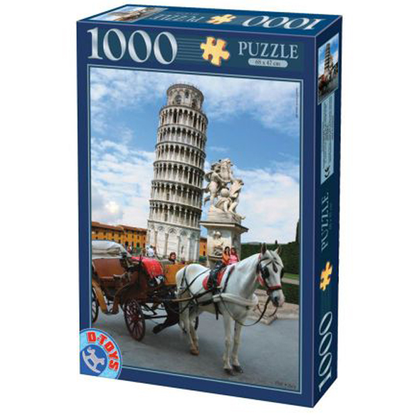 DToys puzzle Pisa Tower 1000pcs 07/64288-03 - ODDO igračke