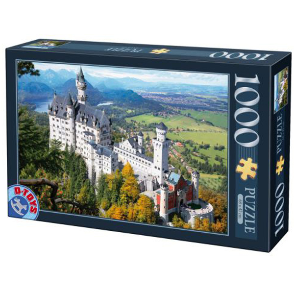 DToys puzzle Neuschwanstein 1000pcs 07/64288-02 - ODDO igračke