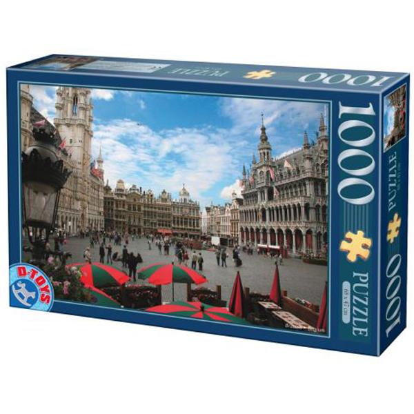 DToys puzzle Bruxelles- Belgia Grand Place 1000pcs 07/64288-01 - ODDO igračke