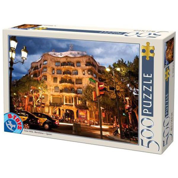 DToys puzzle Casa Mila Barcelone 500pcs 07/50328-32 - ODDO igračke