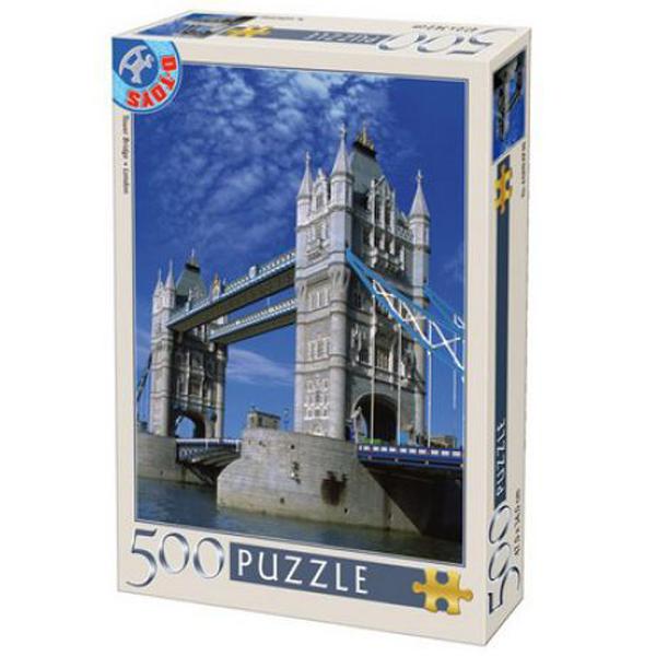 DToys puzzle Tower Bridge 500pcs  07/50328-16 - ODDO igračke