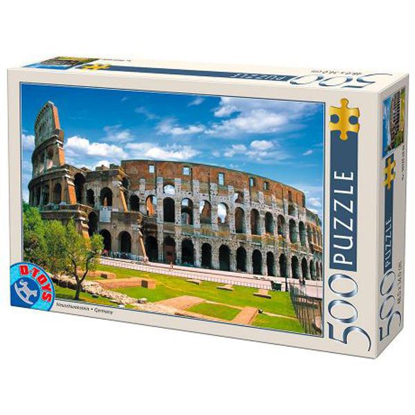 DToys puzzle Colosseum Rome 500pcs 07/50328-07 - ODDO igračke
