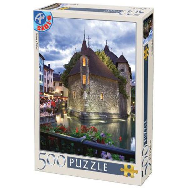 DToys puzzle France Annecy 500pcs 07/50328-33 - ODDO igračke