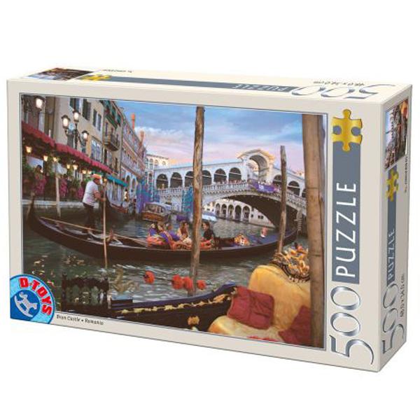 DToys puzzle Venice Italy 500pcs 07/50328-10 - ODDO igračke
