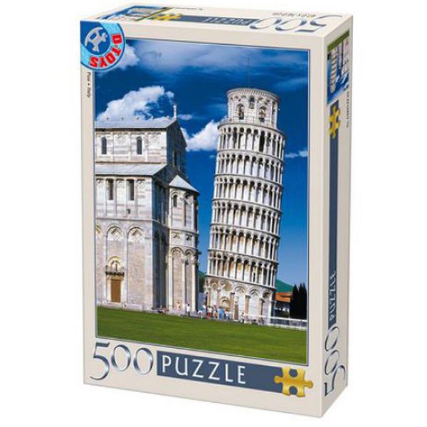 DToys puzzle Leaning Tower in Pisa 500pcs 07/50328-11 - ODDO igračke