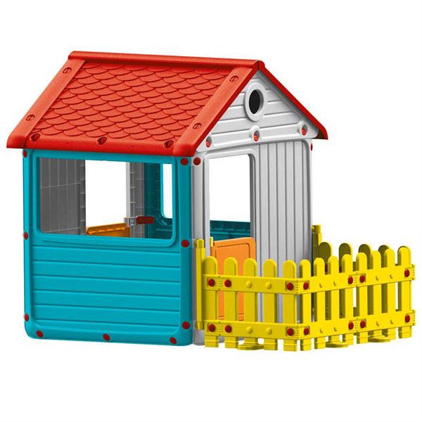 Kucica sa ogradom Dolu 030139 - ODDO igračke
