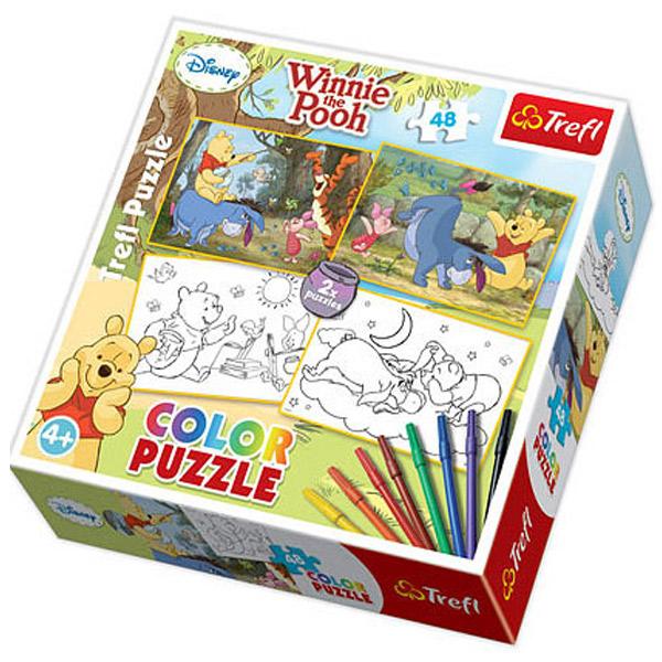 Trefl Color Puzzla Winnie The Pooh Disney WTP 48pcs 36501 - ODDO igračke