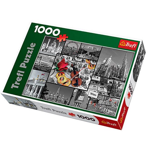 Trefl Puzzla Vienna Collage 1000pcs 10351 - ODDO igračke