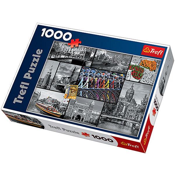 Trefl Puzzla Amsterdam Collage 1000pcs 10352 - ODDO igračke