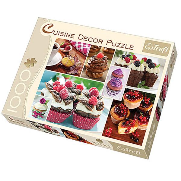 Trefl Puzzla Muffins 1000pcs 10360 - ODDO igračke