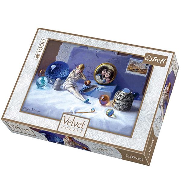 Trefl Puzzla Trinkets Velvet 1000pcs 10510 - ODDO igračke