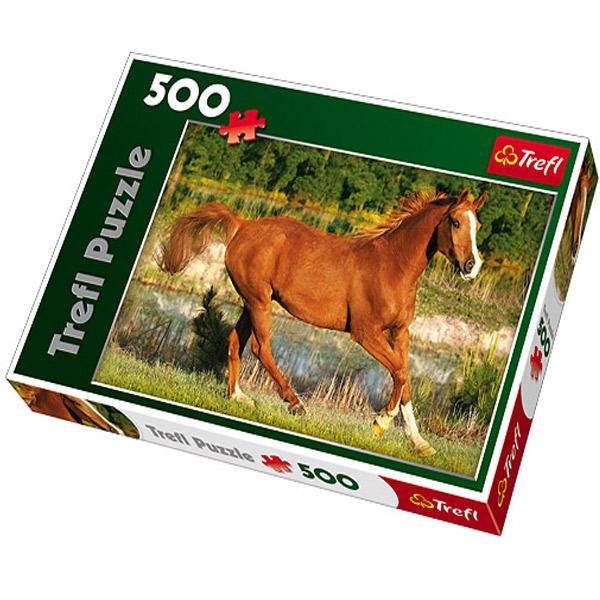 Trefl Puzzla The Beauty of Gallop 500pcs 37184 - ODDO igračke