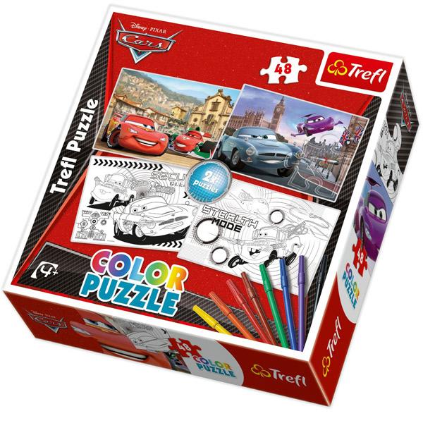 Trefl Puzzla Cars 2 Disney Cars 48pcs 36502 - ODDO igračke