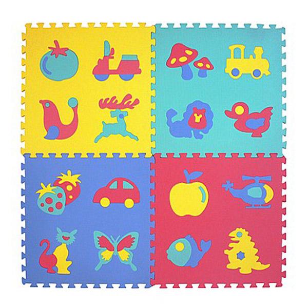 Velike Puzzle 4 kom 600X600X12 PZ21034 - ODDO igračke