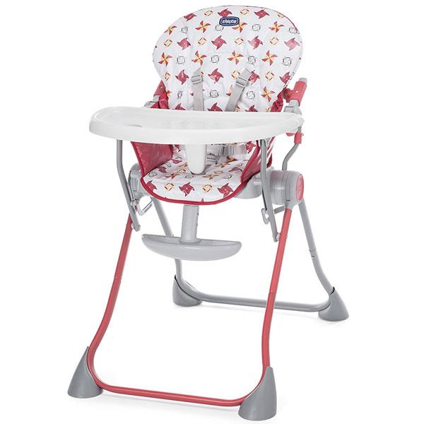 Stolica za hranjenje Chicco Pocket Meal Red - crvena 5300242 - ODDO igračke