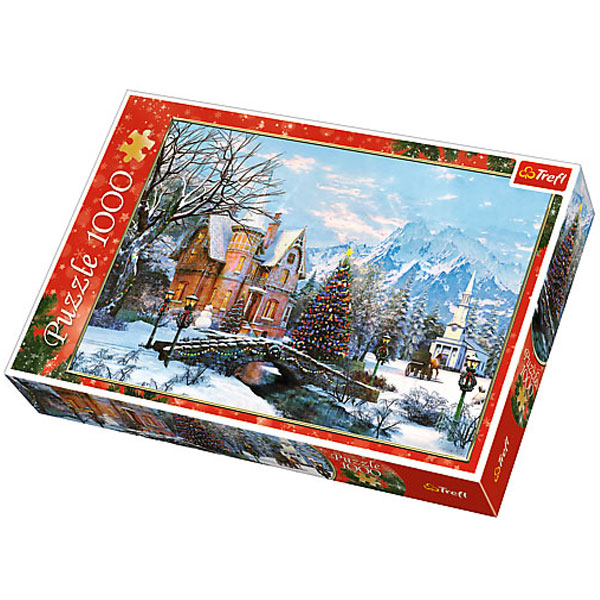 Trefl Puzzle Winter Landscape 1000pcs 10439 - ODDO igračke