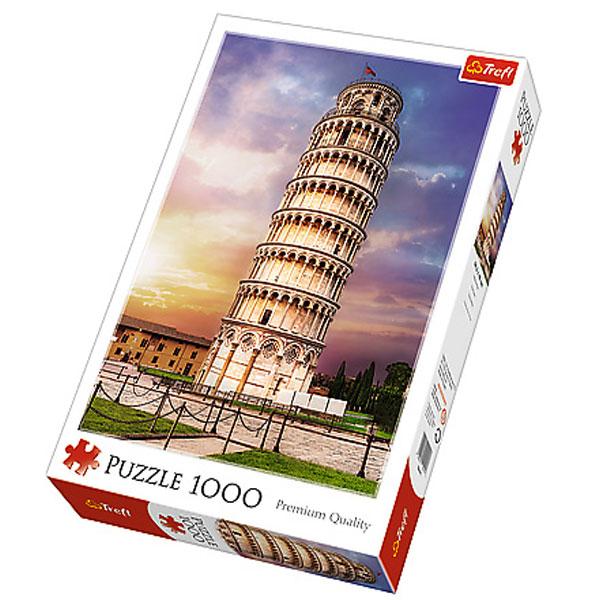 Trefl Puzzle Pisa Tower 1000pcs 10441 - ODDO igračke