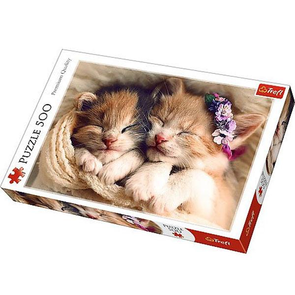 Trefl Puzzle 500pcs Sleeping kittens 37271 - ODDO igračke