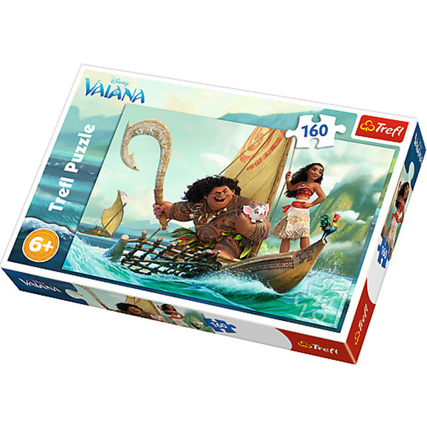 Trefl Puzzle Moana on the wave 160pcs 15334 - ODDO igračke