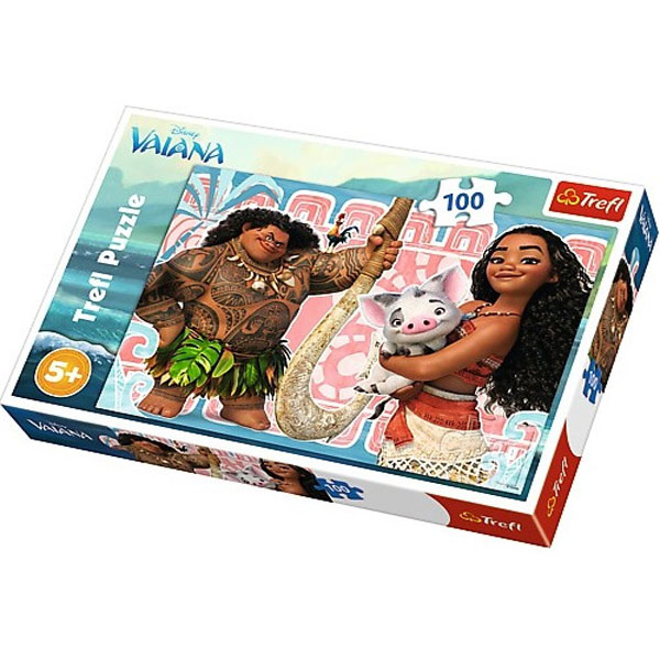 Trefl Puzzle Moana Vaiana and the friends 100pcs 16298 - ODDO igračke