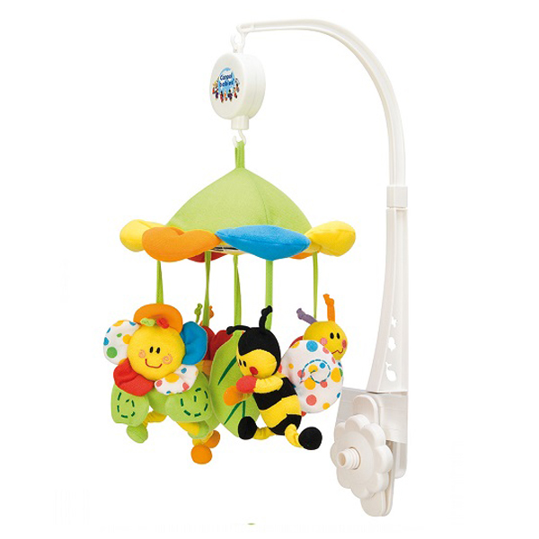 Muzička vrteška za krevetac Colorful Meadow Canpol 2/984 - ODDO igračke