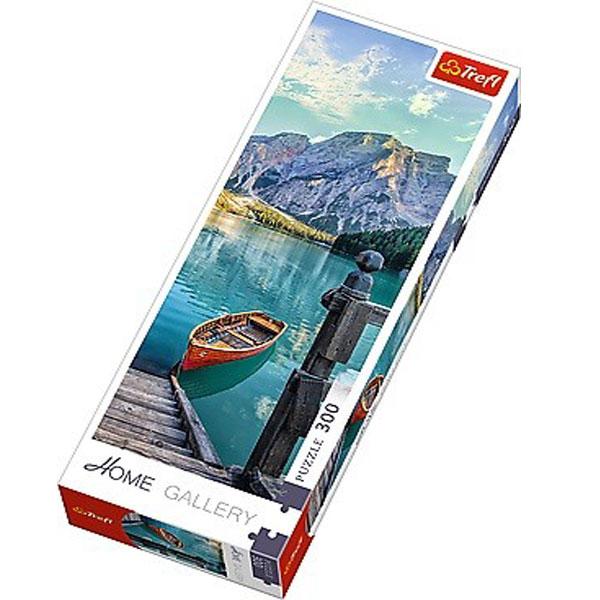 Trefl Puzzla Mountain lake 300 panorama 75003 - ODDO igračke