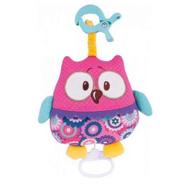 Canpol Baby Muzička Igračka Forest Friends 68/048-pink - ODDO igračke