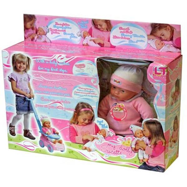 Lutka Beba sa Funkcijama na Baterije 37cm LK98121 - ODDO igračke