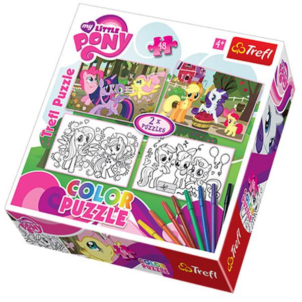 Trefl Puzzla Happy Ponies Hasbro My Little Pony 48pcs 36509