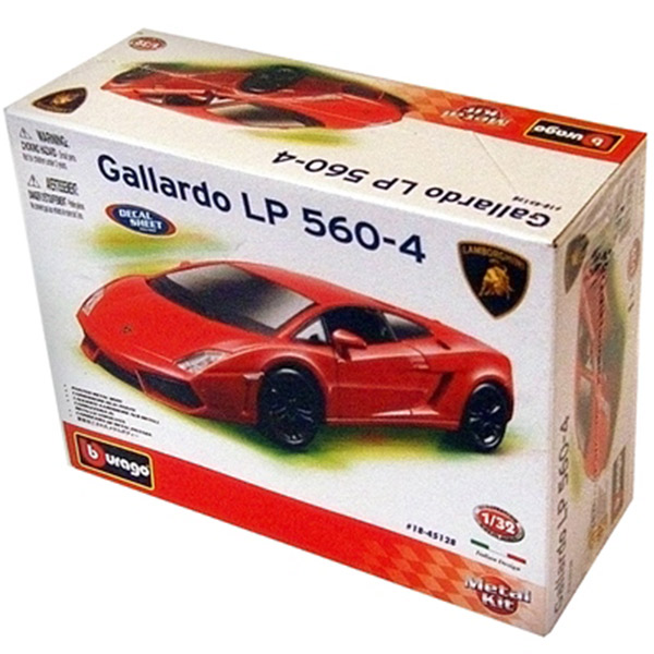 Burago kit 1:32 Street Lamborghini BU45128                                                      - ODDO igračke