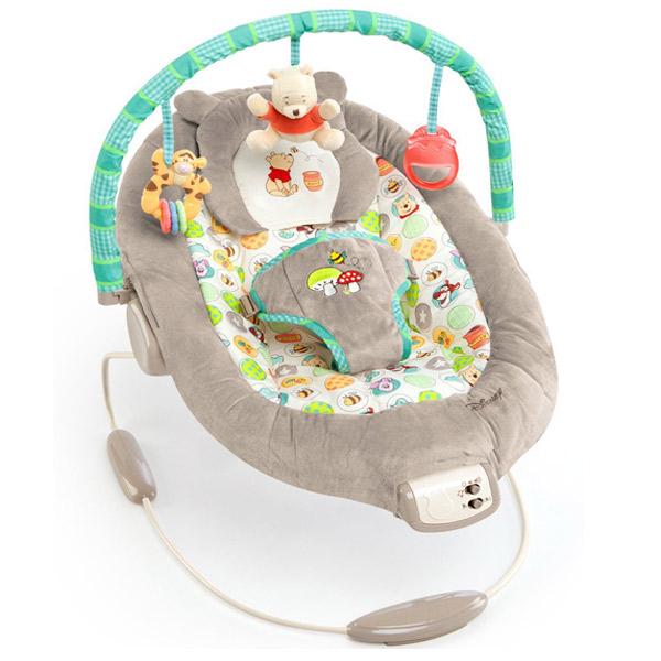 Ležaljka sa Muzikom i Vibracjiom Winnie The Pooh SKU60256 - ODDO igračke