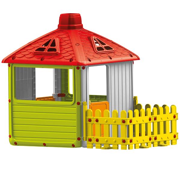 Kućica za decu sa ogradom Dolu 030115 - ODDO igračke