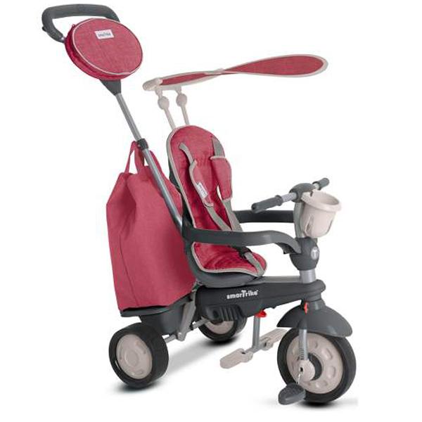 Smart Trike tricikl Voyage Red 1950500 - ODDO igračke