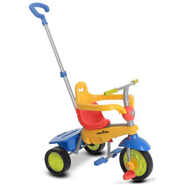 Tricikl sa ručkom Breeze Multicolor Smart Trike 6090400 - ODDO igračke